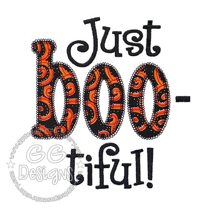 FREE Just Boo-tiful Applique