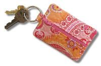 Mini Zippered Keychain Pouch