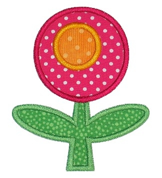 Mod Flower Applique