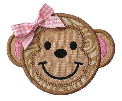 Monkey Face Applique