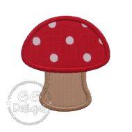 FREE Mushroom Applique