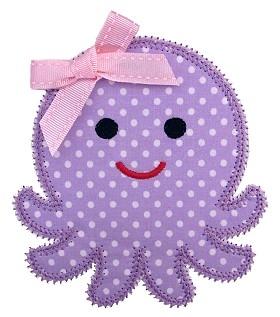 Octopus Applique
