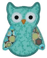 Ollie Owl Applique