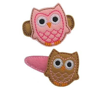 Owl Felt Stitchies