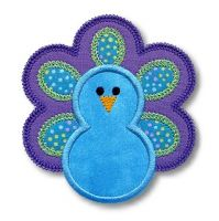Peacock Applique