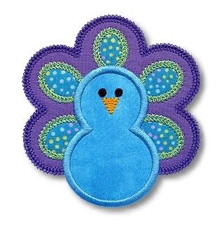 Peacock Applique