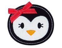 Penguin Face Applique