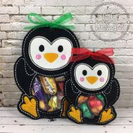 Penguin Peekaboo Treat Bag
