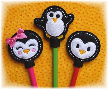 Penguin Pencil Toppers