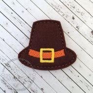 Pilgrim Hat Felt Stitchies