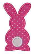 Bunny Silhouette Applique