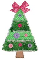 Rag-It-Up Pieced Christmas Tree Applique