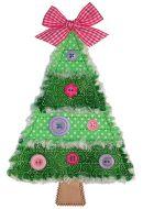 Rag-It-Up Pieced Christmas Tree Applique