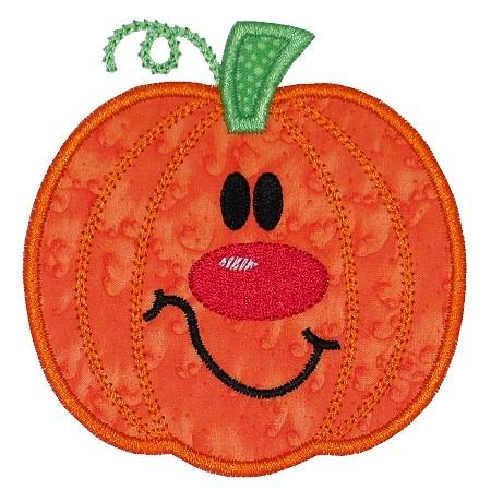 Percy Pumpkin Applique