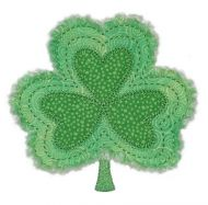 Rag-It-Up Shamrock Applique