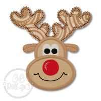 Reindeer Applique