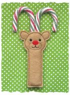 Reindeer Candy Cane Holder
