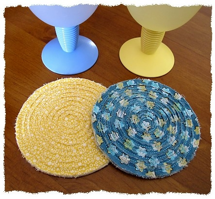 Rag-It-Up Round Coasters