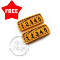 FREE Ruler Clip Cover Felt Stitchies
