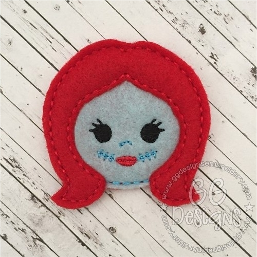 Sally Head Felt Stitchies