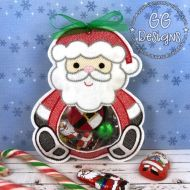 Santa Peekaboo Treat Bag