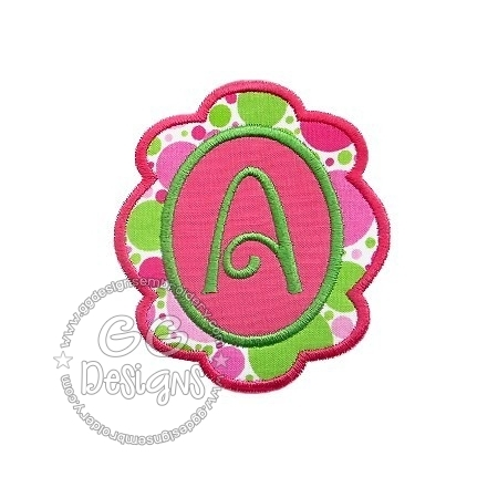 FREE Scallop Frame Applique