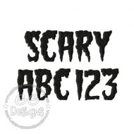 FREE Scary Font