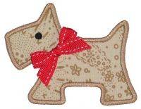Scotty Dog Applique