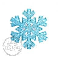 FREE Raw Edge Snowflake Applique