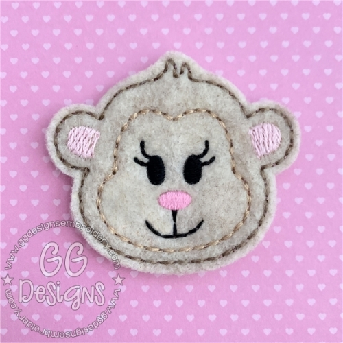 Sweet Monkey Felt Stitchies