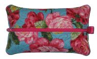 Quilted Zippered Tissue Case