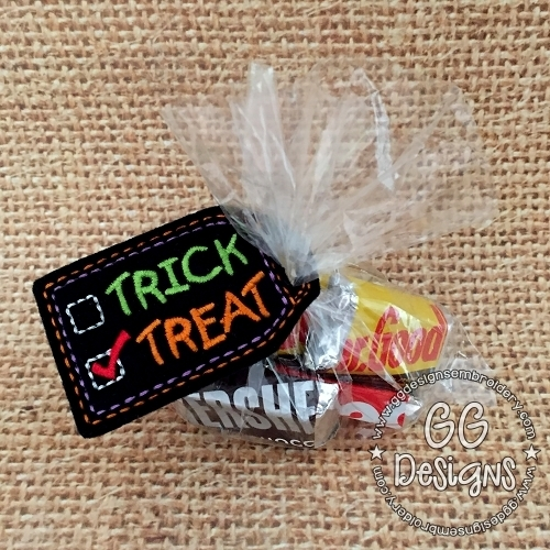 Trick or Treat Treat Bag Topper