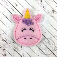 Unicorn Head Felt Stitchies