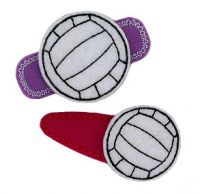 Volleyball Felt Stitchies