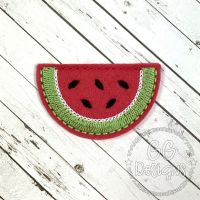 Watermelon Slice Clip Cover Felt Stitchies
