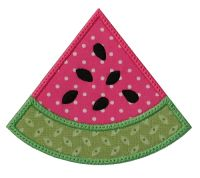 Watermelon Wedge Applique