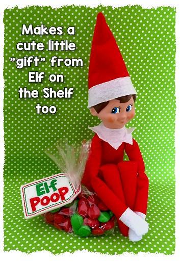 Elf Poop Treat Bag Topper In The Hoop Gg Designs Embroidery