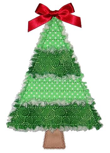 click to enlarge click to enlarge click to enlarge rag it up pieced christmas tree applique - Christmas Tree Applique